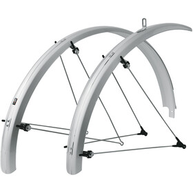 SKS Bluemels B53 Fender Set 28 inches, with cable channel silver